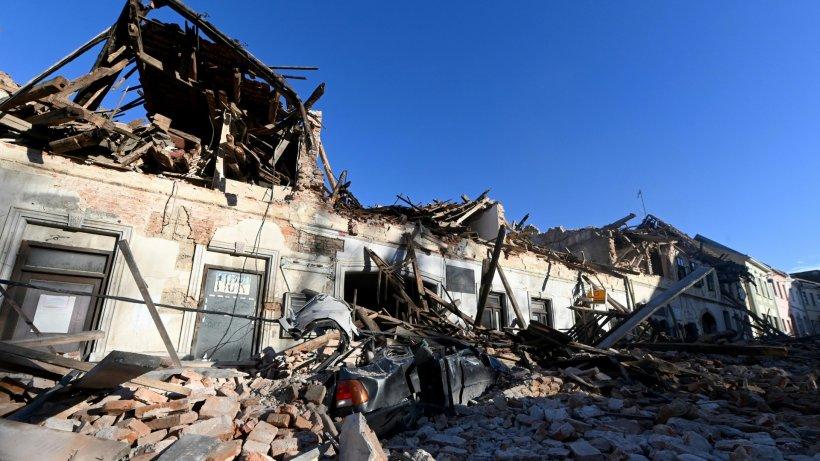 Kroatien: Erdbeben erschüttert Zagreb - Städte in Trümmern ...
