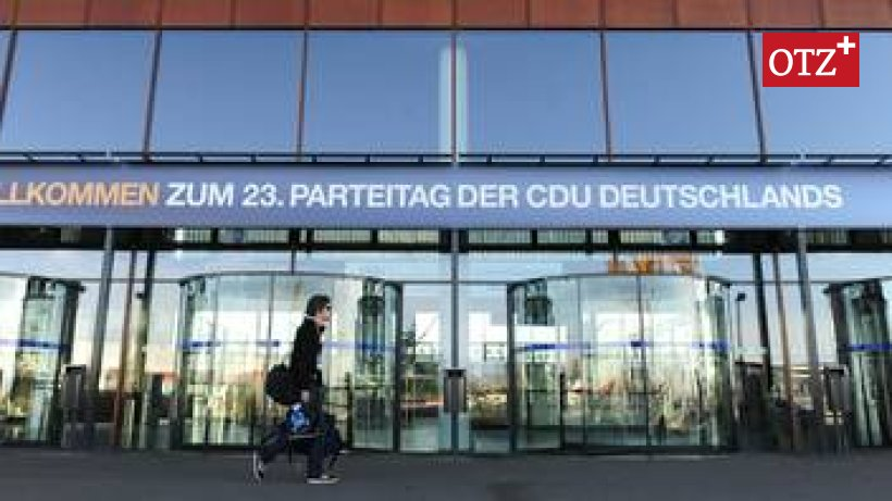 Cdu Parteitag Karlsruhe