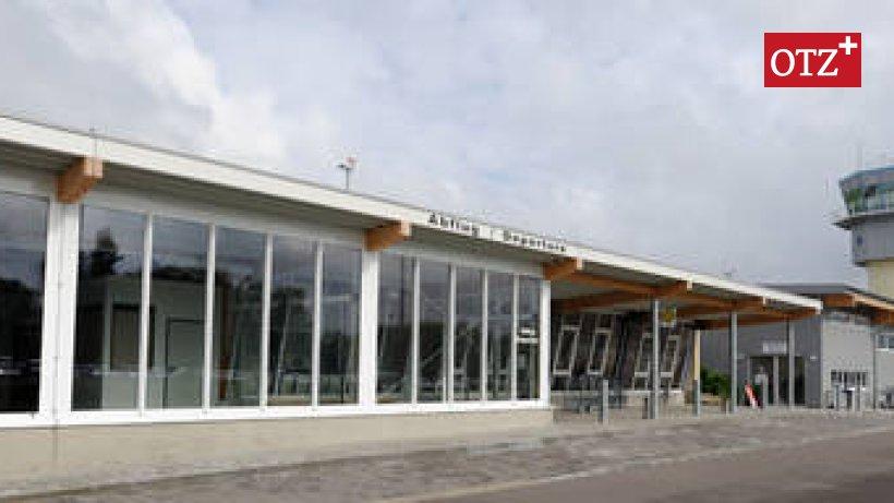 Flughafen Altenburg Nobitz Flüchtlinge
