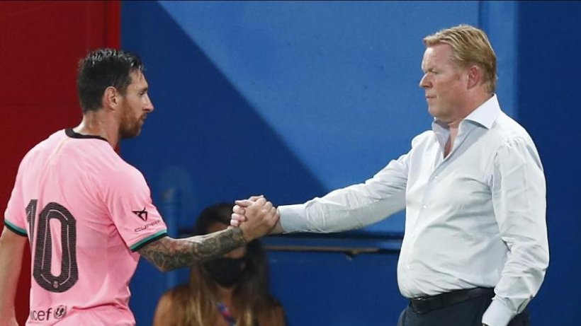 Koeman: Messi ist traurig, aber im Training beispielhaft