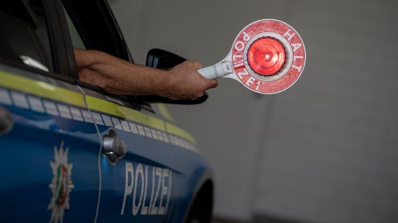 Beim Fahren ohne Führerschein in Schleiz angehalten.